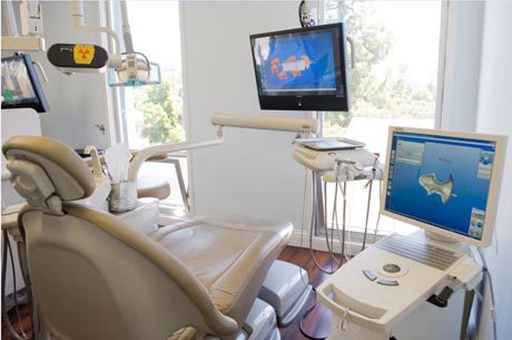Las Vegas Cosmetic Dental office dental chair for patient care